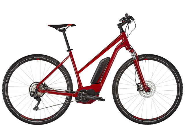 Cube Cross Hybrid Pro 400 Trapez Darkred'n'Red